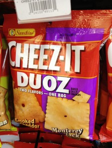 healthy chips, gluten free, combos, pizzeria pretzel, cheez it duoz