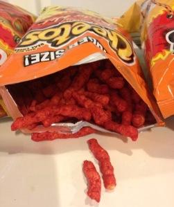 cheetos, flamin hot, hot cheetos, flamin funyuns, hot fries