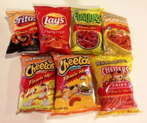 flamin hot, cheetos, munchies, hot cheetos, cheeto puffs, hot fries
