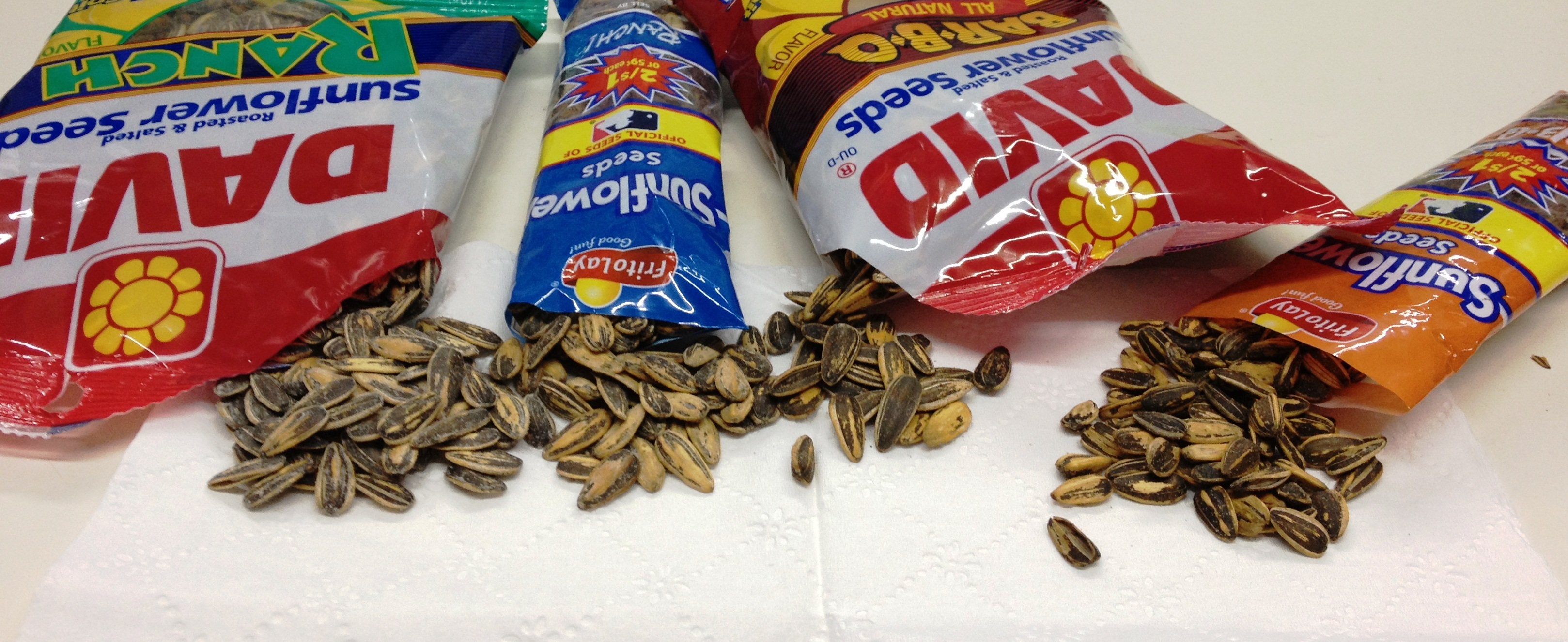 Frito Lay vs DAVID Sunflower Seed Showdown | Gas Station