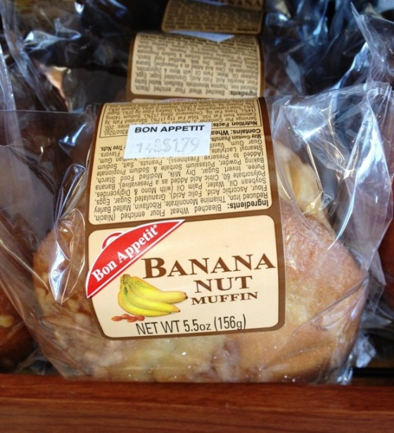 banana nut muffin, banana nut muffins, banana nut bread, bon appetit pastries